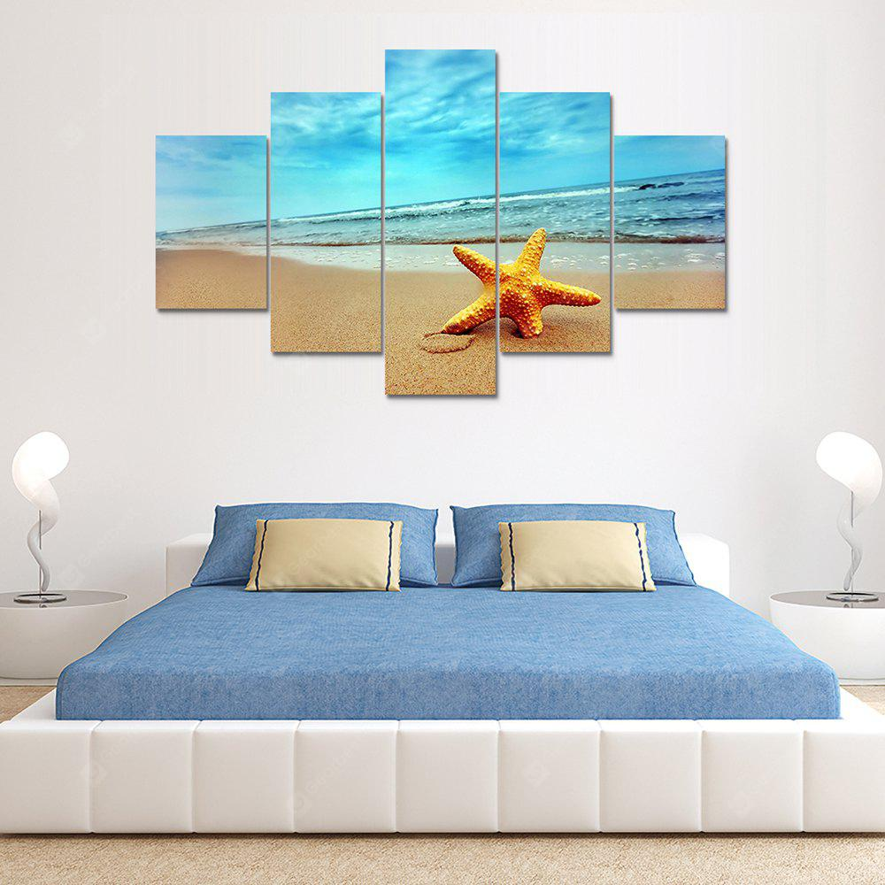 Starfish B Canvas Print Painting Home Decoration Wall Rrt Picture 5 Panel