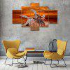 Starfish C Canvas Print Painting Home Decoration Wall Rrt Picture 5 Panel - COLORMIX