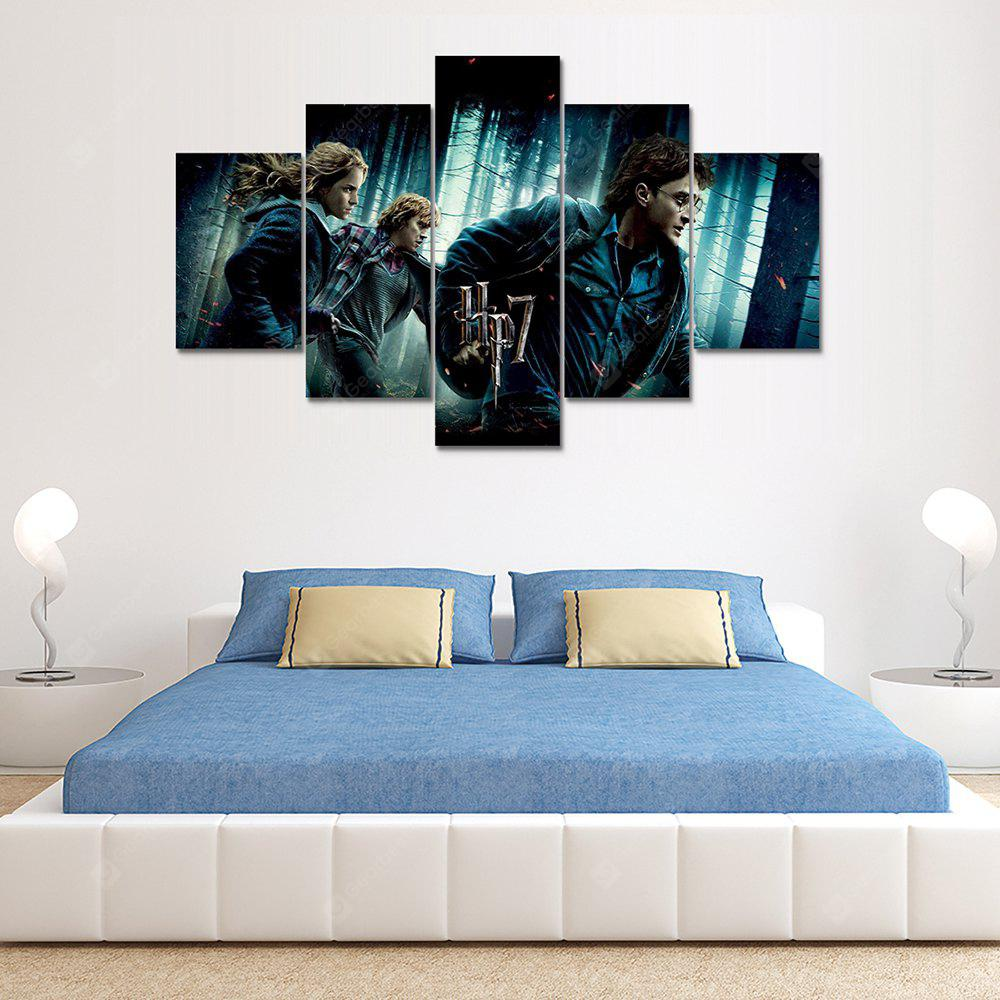 Harry Potter Canvas Print Painting Home Decoration Wall Rrt Picture 5 Panel