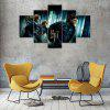 Harry Potter Canvas Print Painting Home Decoration Wall Rrt Picture 5 Panel - COLORMIX