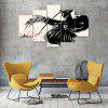 Anime Canvas Print Painting Home Decoration Wall Art Picture 5 Panel - COLORMIX