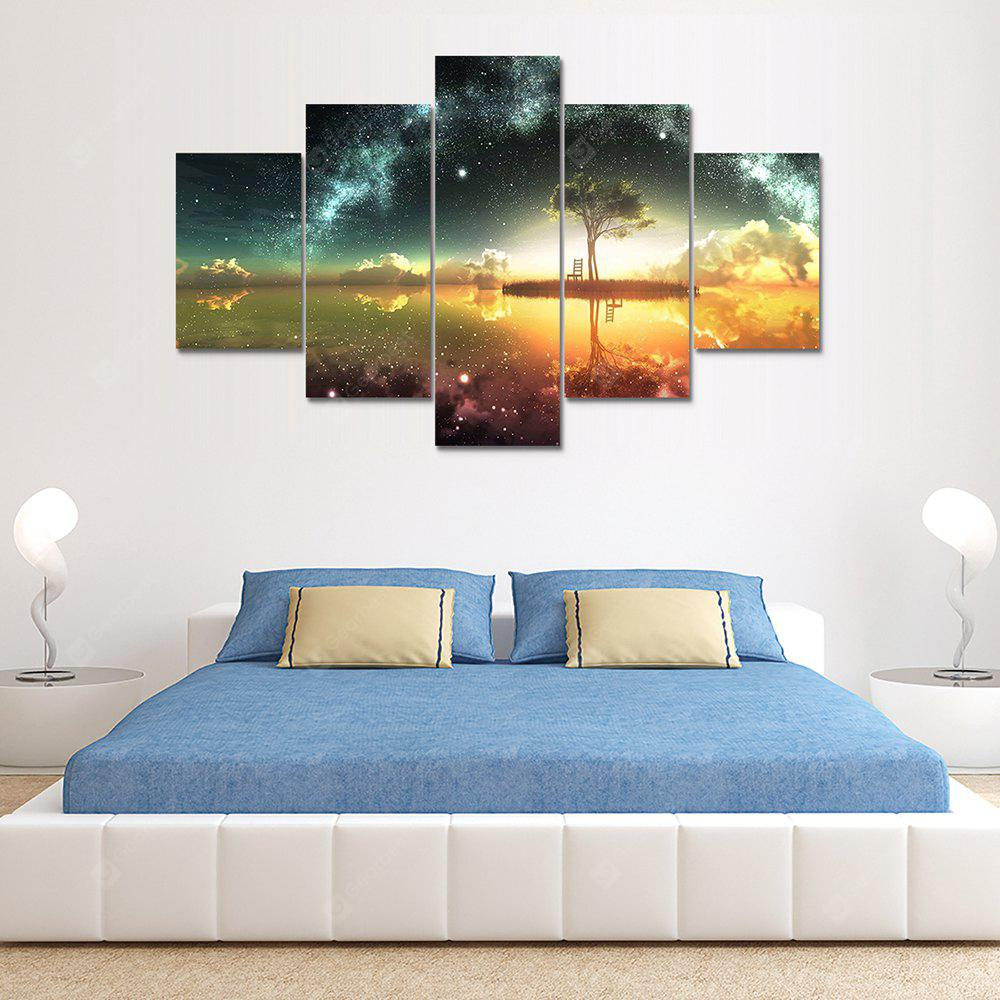 Beautiful Scenery Canvas Print Painting Home Decoration Wall Art Picture 5 Panel