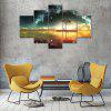 Beautiful Scenery Canvas Print Painting Home Decoration Wall Art Picture 5 Panel - COLORMIX