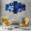 Dead Face Canvas Print Painting Home Decoration Wall Art Picture 5 Panel - COLORMIX