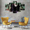 Joker B Canvas Print Painting Home Decoration Wall Art Picture 5 Panel - COLORMIX