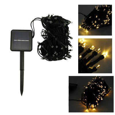 2W Solar Powered Warm White Light 100pcs LED String Light