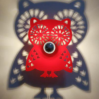 M.Sparkling SL015 Creative Owl Shape Wall Lamp
