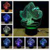 M.Sparkling TD030 Creative Animal 3D LED Lamp - COLORFUL