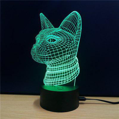 M.Sparkling TD102 Creative Animal 3D LED Lamp3D Lamps<br>M.Sparkling TD102 Creative Animal 3D LED Lamp<br><br>Brand: M.Sparkling<br>Feature: Rechargeable<br>Light Source Color: RGB<br>Package Content: 1 x Acrylic Board, 1 x ABS Pedestal, 1 x USB Cable, 1 x English Manual<br>Package Size ( L x W x H ): 24.00 x 17.00 x 3.00 cm / 9.45 x 6.69 x 1.18 inches<br>Product Size(L x W x H): 15.00 x 22.00 x 8.50 cm / 5.91 x 8.66 x 3.35 inches<br>Type: Animal<br>Voltage (V): 5V