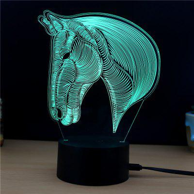 M.Sparkling TD134 Creative Animal 3D LED Lamp3D Lamps<br>M.Sparkling TD134 Creative Animal 3D LED Lamp<br><br>Brand: M.Sparkling<br>Feature: Rechargeable<br>Light Source Color: RGB<br>Package Content: 1 x Acrylic Board, 1 x ABS Pedestal, 1 x USB Cable, 1 x English Manual<br>Package Size ( L x W x H ): 24.00 x 17.00 x 5.00 cm / 9.45 x 6.69 x 1.97 inches<br>Product Size(L x W x H): 15.00 x 22.00 x 8.50 cm / 5.91 x 8.66 x 3.35 inches<br>Type: Animal<br>Voltage (V): 5V