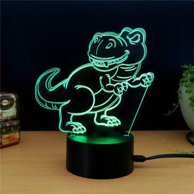M.Sparkling TD137 Creative Animal 3D LED Lamp3D Lamps<br>M.Sparkling TD137 Creative Animal 3D LED Lamp<br><br>Brand: M.Sparkling<br>Feature: Rechargeable<br>Light Source Color: RGB<br>Package Content: 1 x Acrylic Board, 1 x ABS Pedestal, 1 x USB Cable, 1 x English Manual<br>Package Size ( L x W x H ): 24.00 x 17.00 x 5.00 cm / 9.45 x 6.69 x 1.97 inches<br>Product Size(L x W x H): 15.00 x 22.00 x 8.50 cm / 5.91 x 8.66 x 3.35 inches<br>Type: Animal<br>Voltage (V): 5V