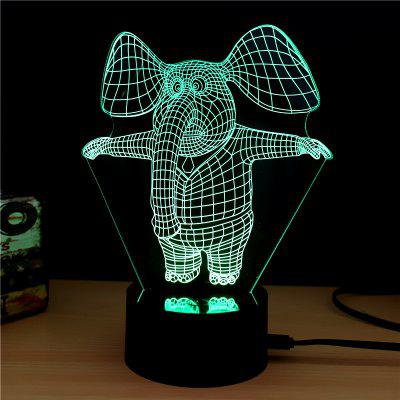 M.Sparkling TD151 Creative Animal 3D LED Lamp3D Lamps<br>M.Sparkling TD151 Creative Animal 3D LED Lamp<br><br>Brand: M.Sparkling<br>Feature: Rechargeable<br>Light Source Color: RGB<br>Package Content: 1 x Acrylic Board, 1 x ABS Pedestal, 1 x Usb Cable, 1 x English Manual<br>Package Size ( L x W x H ): 24.00 x 17.00 x 5.00 cm / 9.45 x 6.69 x 1.97 inches<br>Product Size(L x W x H): 15.00 x 22.00 x 8.50 cm / 5.91 x 8.66 x 3.35 inches<br>Type: Animal<br>Voltage (V): 5V