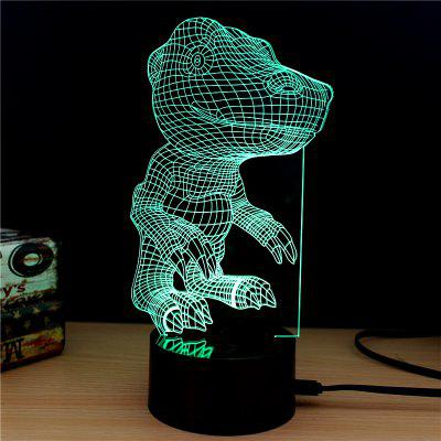 M.Sparkling TD154 Creative Animal 3D LED Lamp3D Lamps<br>M.Sparkling TD154 Creative Animal 3D LED Lamp<br><br>Brand: M.Sparkling<br>Feature: Rechargeable<br>Light Source Color: RGB<br>Package Content: 1 x Acrylic Board, 1 x ABS Pedestal, 1 x USB Cable, 1 x English Manual<br>Package Size ( L x W x H ): 24.00 x 17.00 x 5.00 cm / 9.45 x 6.69 x 1.97 inches<br>Product Size(L x W x H): 15.00 x 22.00 x 8.50 cm / 5.91 x 8.66 x 3.35 inches<br>Type: Animal<br>Voltage (V): 5V
