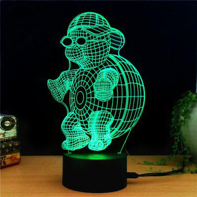 M.Sparkling TD172 Creative Animal 3D LED Lamp3D Lamps<br>M.Sparkling TD172 Creative Animal 3D LED Lamp<br><br>Brand: M.Sparkling<br>Feature: Rechargeable<br>Light Source Color: RGB<br>Package Content: 1 x Acrylic Board, 1 x ABS Pedestal, 1 x USB Cable, 1 x English Manual<br>Package Size ( L x W x H ): 24.00 x 17.00 x 5.00 cm / 9.45 x 6.69 x 1.97 inches<br>Product Size(L x W x H): 15.00 x 22.00 x 8.50 cm / 5.91 x 8.66 x 3.35 inches<br>Type: Animal<br>Voltage (V): 5V