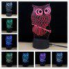 M.Sparkling TD182 Creative Animal 3D LED Lamp - COLORFUL