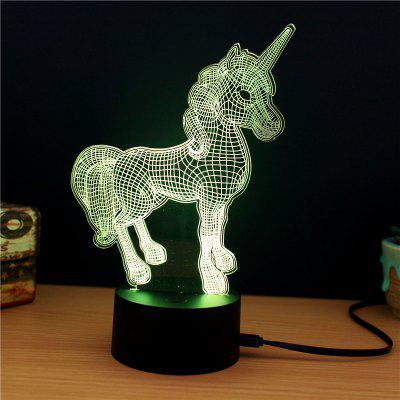 M.Sparkling TD261 Creative Animal 3D LED Lamp3D Lamps<br>M.Sparkling TD261 Creative Animal 3D LED Lamp<br><br>Brand: M.Sparkling<br>Feature: Rechargeable<br>Light Source Color: RGB<br>Package Content: 1 x Acrylic Board, 1 x ABS Pedestal, 1 x USB Cable, 1 x English Manual<br>Package Size ( L x W x H ): 24.00 x 17.00 x 5.00 cm / 9.45 x 6.69 x 1.97 inches<br>Product Size(L x W x H): 15.00 x 22.00 x 8.50 cm / 5.91 x 8.66 x 3.35 inches<br>Type: Animal<br>Voltage (V): 5V