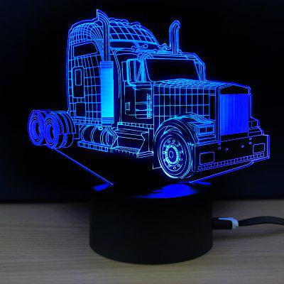M.Sparkling TD273 Kreative 3D LED-Lampe mit Auto Muster