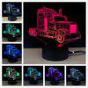 M.Sparkling TD273 Creative Car 3D LED Lamp - COLORFUL