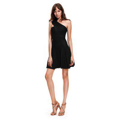 One Shoulder Knit DressSweater Dresses<br>One Shoulder Knit Dress<br><br>Dresses Length: Knee-Length<br>Elasticity: Micro-elastic<br>Embellishment: Criss-Cross<br>Fabric Type: Flannel<br>Material: Nylon, Acrylic<br>Neckline: One-Shoulder<br>Package Contents: 1 x Sweater Dress<br>Pattern Type: Solid<br>Season: Fall, Summer<br>Silhouette: A-Line<br>Sleeve Length: Sleeveless<br>Sleeve Type: Off The Shoulder<br>Style: Fashion<br>Waist: Natural<br>Weight: 0.5000kg<br>With Belt: No