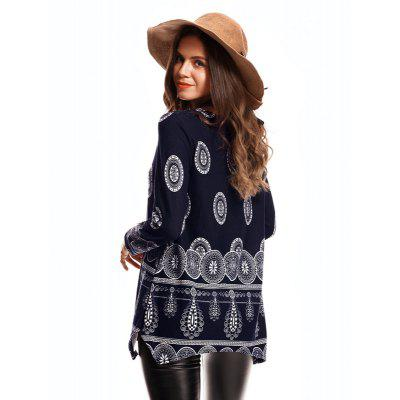 Loose and Comfortable Printed PulloverTees<br>Loose and Comfortable Printed Pullover<br><br>Collar: Collarless<br>Elasticity: Nonelastic<br>Embellishment: Pattern<br>Fabric Type: Flannel<br>Material: Nylon, Acrylic<br>Package Contents: 1 x  knitwear<br>Pattern Type: Others<br>Shirt Length: Long<br>Sleeve Length: Full<br>Style: Casual<br>Weight: 0.5000kg