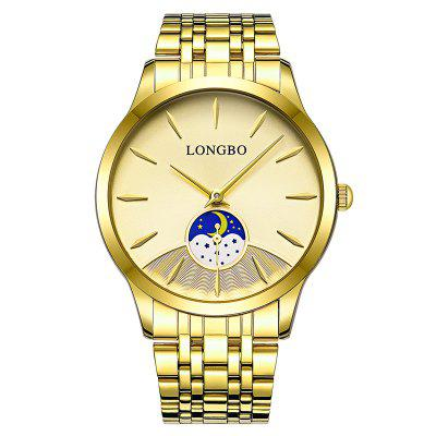 LONGBO 8 Series 80306 Fashion Casual No Day Couples Watch 1 Degree Waterproof