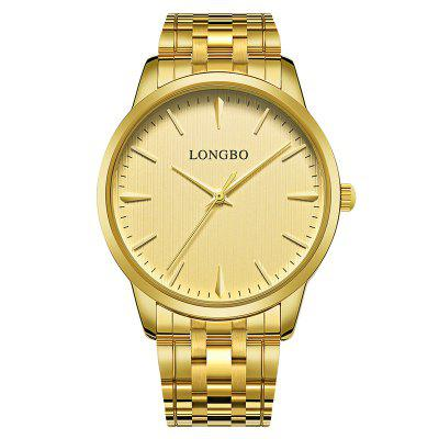 Longbo 8 Series 80305 Couples Fashion Leisure Leisurely Automatic Adjustment Watch 1 Degree Waterproof
