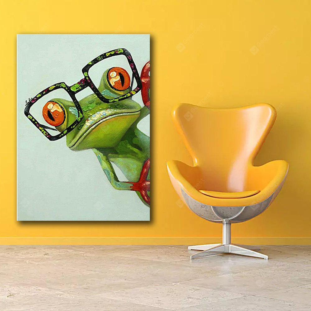 Frog Pictures Canvas Wall Art Prints - $3.94 Free Shipping|GearBest.com