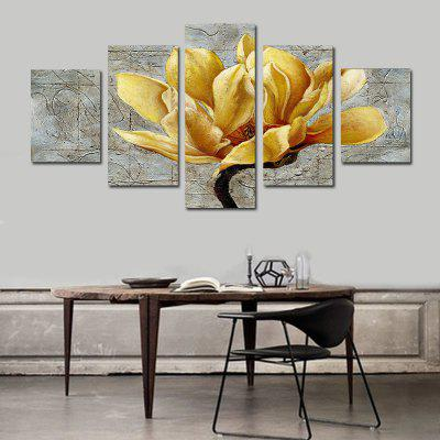 Frameless HD Flower Printed Wall Canvas Painting for Home Decor
