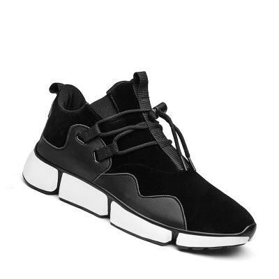 Buy BLACK 44 Men Shoes Sport Sneakers Travel Lace-Up Leisure Shoes Outdoor Hiking Shoes Size (39-44) for $47.31 in GearBest store