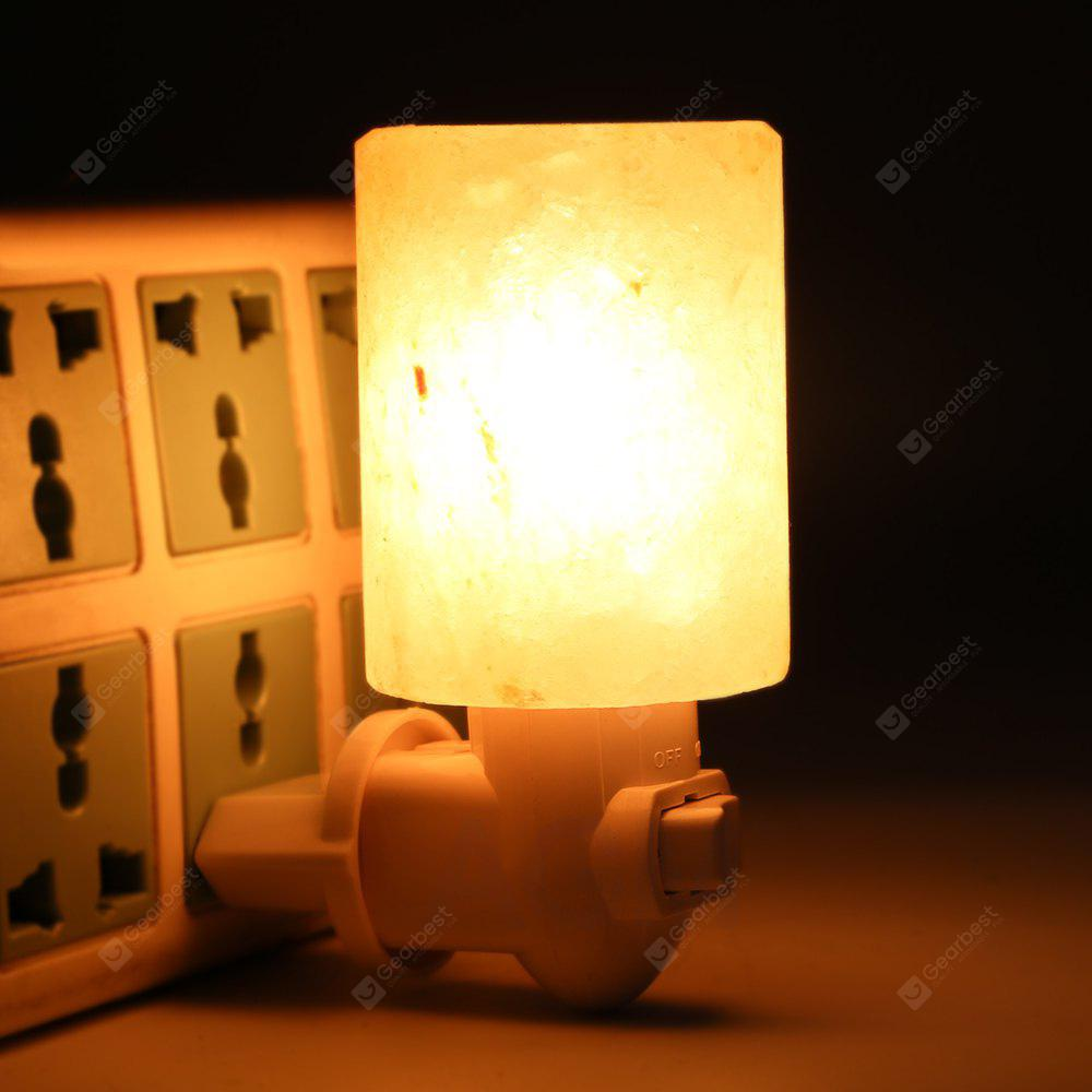 YouOKLight 1PC 15W E12 110V Warm White Natural Himalayan Salt Night Light