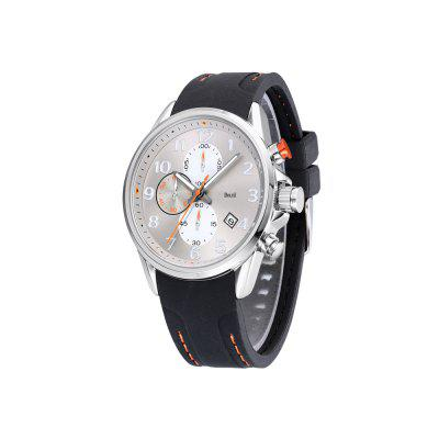 BOLISI 8222 4675 Calendar Waterproof Band Men Quartz WatchMens Watches<br>BOLISI 8222 4675 Calendar Waterproof Band Men Quartz Watch<br><br>Band material: Silicone<br>Band size: 20 x 2.14cm<br>Brand: BOLISI<br>Case material: Alloy<br>Clasp type: Pin buckle<br>Dial size: 4.4 x 4.4 x 1.2cm<br>Display type: Analog<br>Movement type: Quartz watch<br>Package Contents: 1 x Watch, 1 x Box<br>Package size (L x W x H): 28.00 x 8.00 x 3.50 cm / 11.02 x 3.15 x 1.38 inches<br>Package weight: 0.1020 kg<br>Product size (L x W x H): 20.00 x 4.40 x 1.20 cm / 7.87 x 1.73 x 0.47 inches<br>Product weight: 0.0720 kg<br>Shape of the dial: Round<br>Watch mirror: Mineral glass<br>Watch style: Casual, Business, Fashion<br>Watches categories: Men<br>Water resistance: 30 meters<br>Wearable length: 20 - 24cm