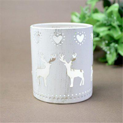 Contracted Iron Art Romantic Cute Deer CandlestickCandle &amp; Candle Holders<br>Contracted Iron Art Romantic Cute Deer Candlestick<br><br>Package Contents: 1 x Candle Holder<br>Package size (L x W x H): 15.00 x 10.00 x 10.00 cm / 5.91 x 3.94 x 3.94 inches<br>Package weight: 0.5000 kg<br>Product size (L x W x H): 9.00 x 6.00 x 8.00 cm / 3.54 x 2.36 x 3.15 inches<br>Product weight: 0.2000 kg