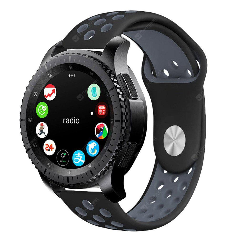 Soft Silicone Band Replacement Strap for Gear S3, DARK GREY, Consumer Electronics, Smart Watch Accessories