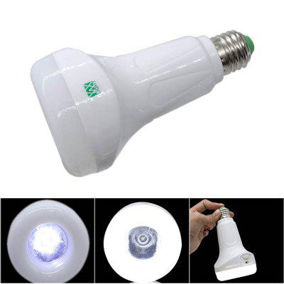 Buy WHITE LIGHT YWXLight E27 USB Cool White Flashlight Energy Saving Bulb LED Bulb Rechargeable Multifunction Emergency Light for $9.66 in GearBest store