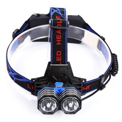 Ultrafire Cree Xml T6 1300LM 3 Files Dual Lights Light Headlights