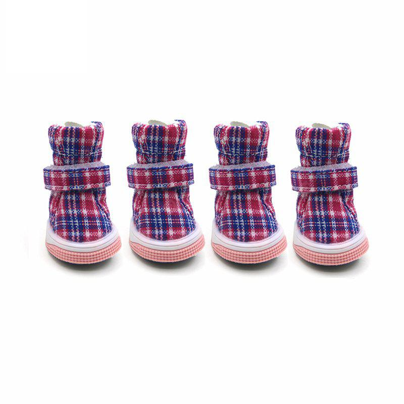 Lovoyager LVC1721 Spring Sport Boots Soft Cotton Dog Shoes