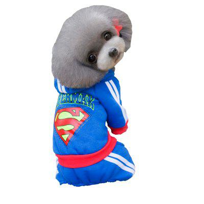 Lovoyager A04 Pet Clothes Winter Dog Costumes