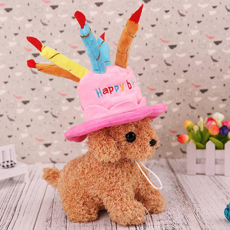 Lovoyager MM2366 Dog Halloween Christmas New Year Cute Cake Cap Hat