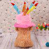 Lovoyager MM2366 Dog Halloween Christmas New Year Cute Cake Cap Hat - PINK