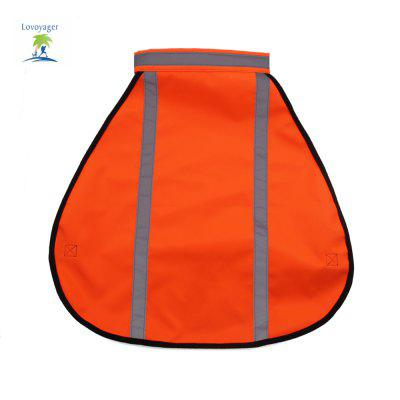 Lovoyager LVFC16002 Fluorescent Reflective Pet Vest For DogDog Clothing &amp; Shoes<br>Lovoyager LVFC16002 Fluorescent Reflective Pet Vest For Dog<br><br>For: Dogs<br>Functions: Waterproof<br>item: Reflective dog rainwear<br>Material: PVC<br>Package Contents: 1 x Pet Reflective Vestreen, 1 x Pet Reflective Vestreen<br>Package size (L x W x H): 40.00 x 25.00 x 6.00 cm / 15.75 x 9.84 x 2.36 inches, 40.00 x 25.00 x 6.00 cm / 15.75 x 9.84 x 2.36 inches<br>Package weight: 0.2000 kg<br>Product size (L x W x H): 35.00 x 35.00 x 3.00 cm / 13.78 x 13.78 x 1.18 inches<br>Product weight: 0.1800 kg<br>Season: All seasons<br>Size: Others<br>Type: Others