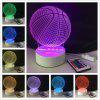 DSU Basketball Light Optical Illusion Color Change 3D Visual LED Light - RGB