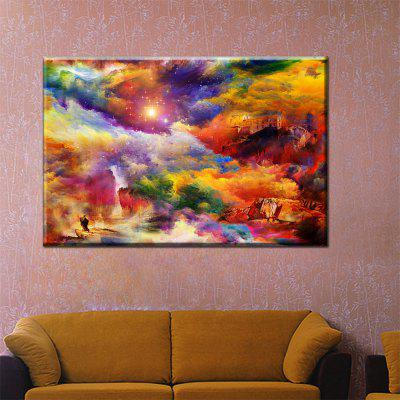 Hua Tuo Abstract Oil Painting 60 x 90CM OSR - 160322