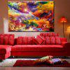 Hua Tuo Abstract Oil Painting 60 x 90CM OSR - 160322 - COLORFUL