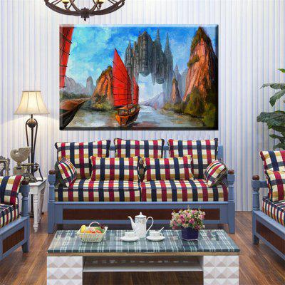 Hua Tuo Sailing Oil Painting 60 x 90CM OSR - 160333