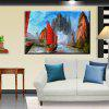 Hua Tuo Sailing Oil Painting 60 x 90CM OSR - 160333 - RED