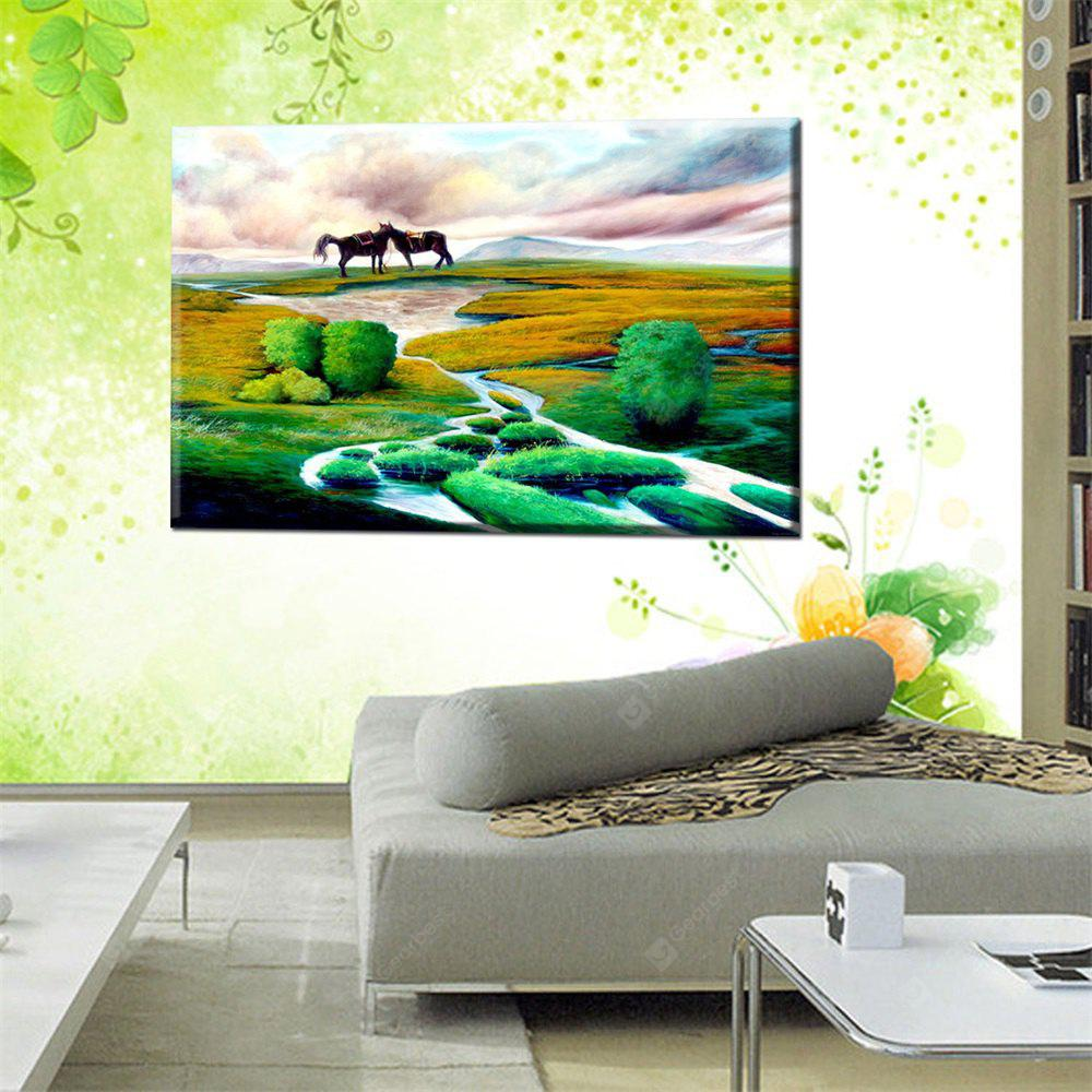 Hua Tuo Landscape Oil Painting Size 60 x 90CM OSR - 160339
