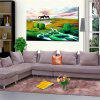 Hua Tuo Landscape Oil Painting Size 60 x 90CM OSR - 160339 - GREEN + BROWN