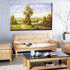 Hua Tuo Landscape Oil Painting Size 60 x 90CM OSR - 160341 - GREEN