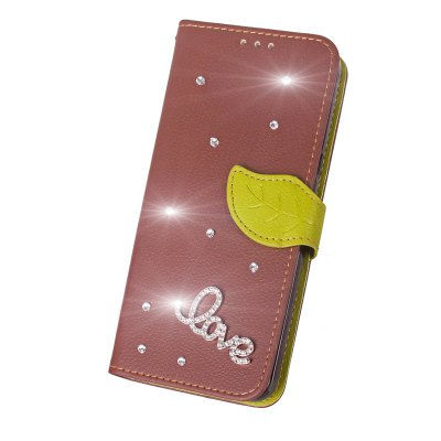 Love Leaf Stick Drill Card Lanyard Pu Leather for Cubot RAINBOW 2Cases &amp; Leather<br>Love Leaf Stick Drill Card Lanyard Pu Leather for Cubot RAINBOW 2<br><br>Color: Black,Red,Green,Brown,Rose Madder<br>Features: Full Body Cases, Cases with Stand, With Credit Card Holder, With Lanyard<br>Material: PU Leather, TPU<br>Package Contents: 1 x Case<br>Package size (L x W x H): 17.00 x 9.00 x 2.00 cm / 6.69 x 3.54 x 0.79 inches<br>Package weight: 0.0800 kg<br>Product Size(L x W x H): 15.90 x 8.00 x 1.50 cm / 6.26 x 3.15 x 0.59 inches<br>Product weight: 0.0750 kg<br>Style: Vintage/Nostalgic Euramerican Style, Novelty, Name Brand Style