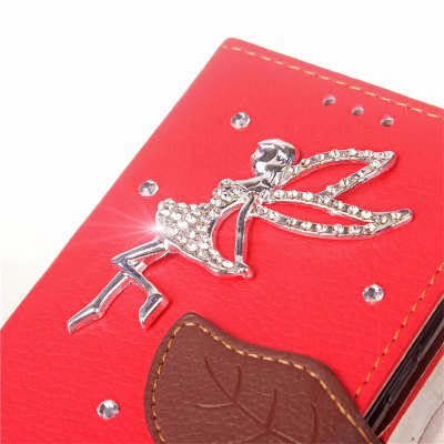 Leaf Stick Drill Card Lanyard Pu Leather for Redmi Note 5ACases &amp; Leather<br>Leaf Stick Drill Card Lanyard Pu Leather for Redmi Note 5A<br><br>Color: Black,Red,Green,Orange,Rose Madder<br>Features: Full Body Cases, Cases with Stand, With Credit Card Holder, With Lanyard<br>Mainly Compatible with: Xiaomi<br>Material: PU Leather, TPU<br>Package Contents: 1 x Case<br>Package size (L x W x H): 16.00 x 8.00 x 2.00 cm / 6.3 x 3.15 x 0.79 inches<br>Package weight: 0.0700 kg<br>Product Size(L x W x H): 15.00 x 7.80 x 1.50 cm / 5.91 x 3.07 x 0.59 inches<br>Product weight: 0.0620 kg<br>Style: Vintage/Nostalgic Euramerican Style, Novelty, Name Brand Style